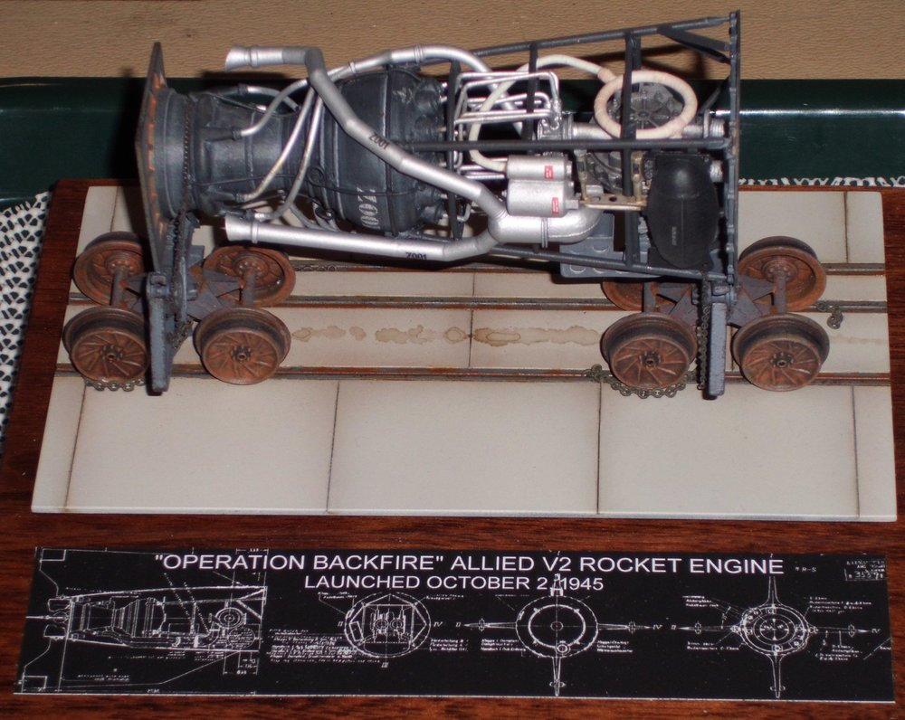 Scratch built V2 Rocket Engine by David Carlton