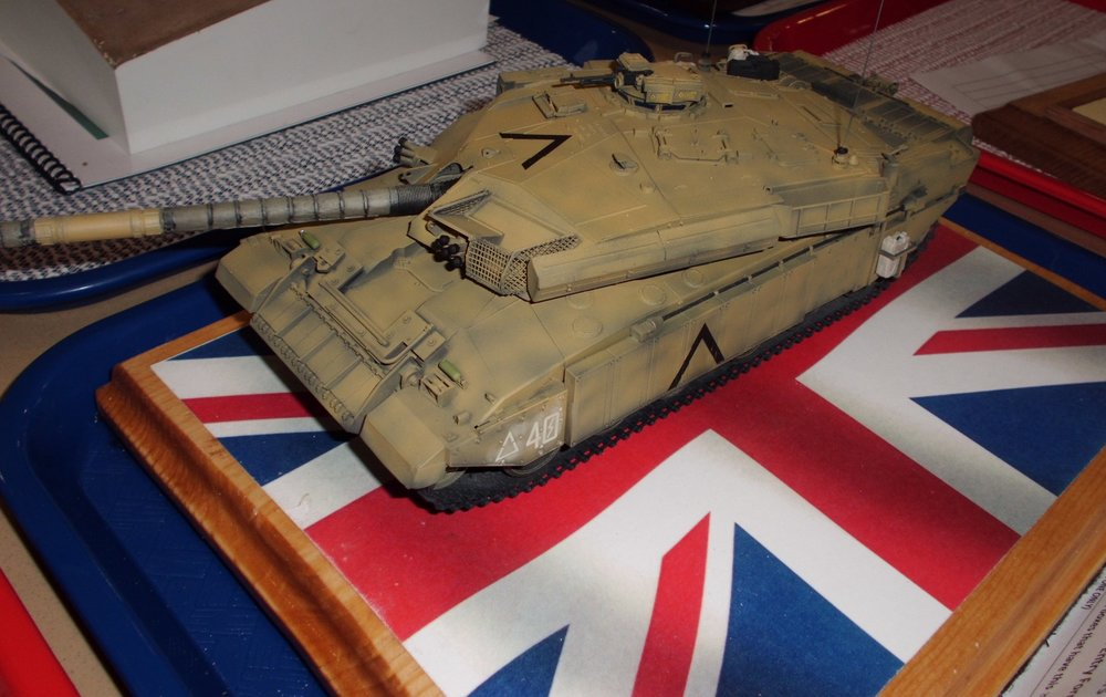 Challenger 1 by CTSMS Member Ted Andreas