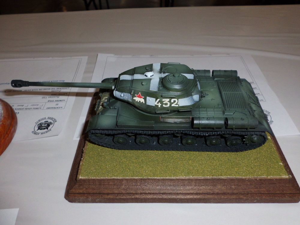 1/48 IS-2 by CTSMS Member Ted Andreas