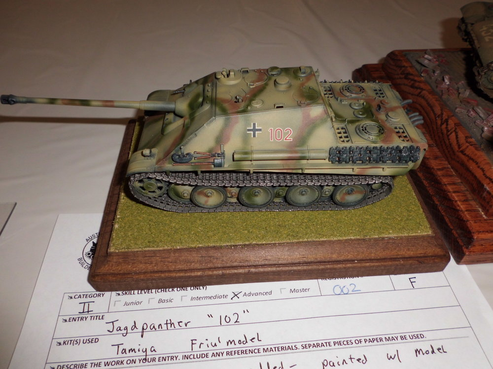 1/48 Jagdpanther  by CTSMS Member Ted Andreas