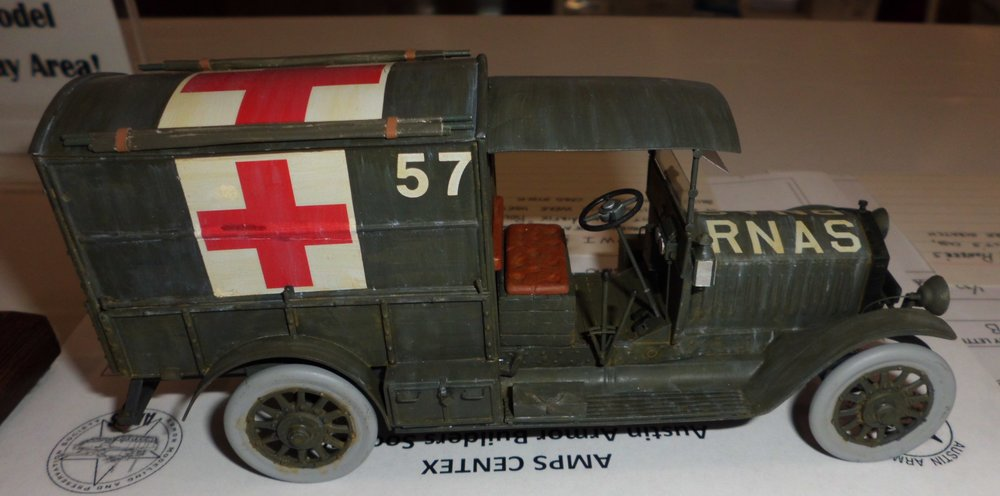 WWI Royal Naval Air Service Ambulance by CTSMS Member Gregory Jouette