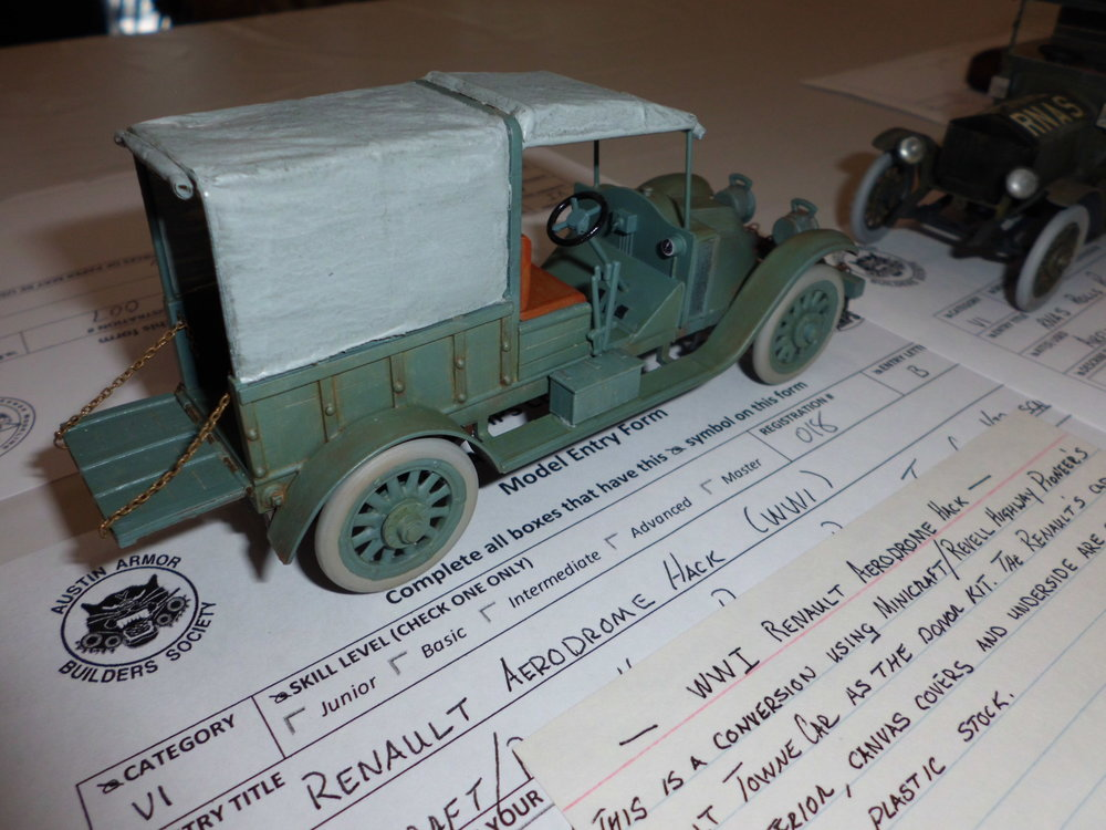WWI Renault Aerodrome Hack by CTSMS Member Gregory Jouette