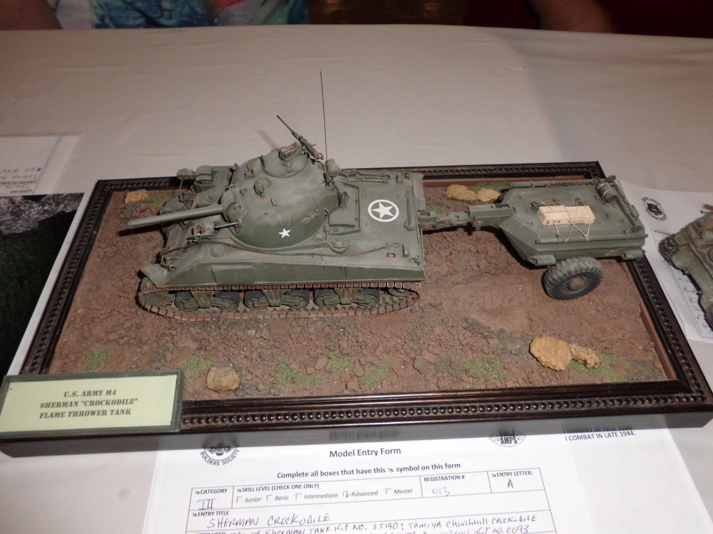 SHERMAN CROCODILE