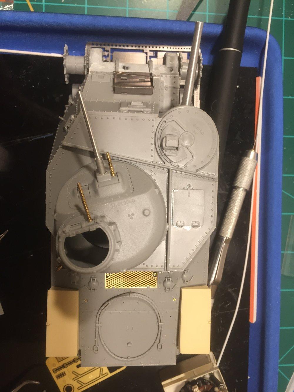 Engine deck PE.