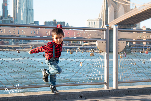 Brooklyn Bridge Pose