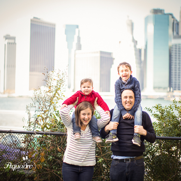 Family Skyline Photo