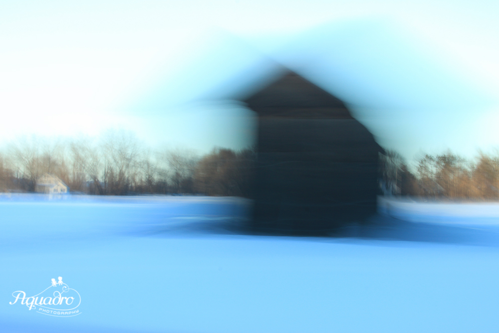 Blue Hour Barn