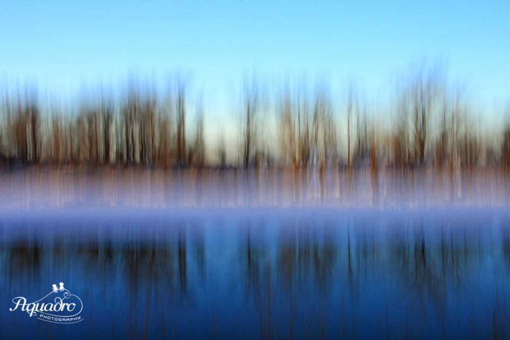 Blue Hour Riverbank