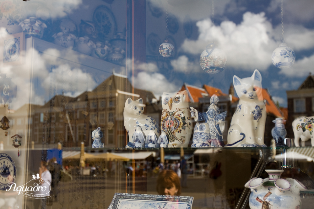 Delft Blue Cats