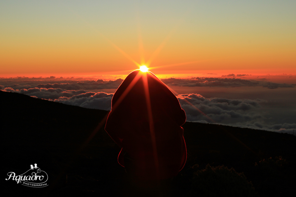 Sunset from Haleakala