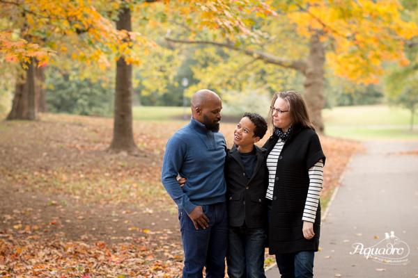 Family Photo in Prospect Park