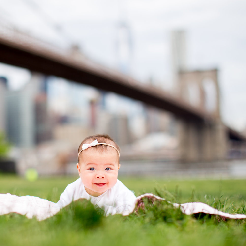 Tummy Time Baby by Brooklyn Bridge
