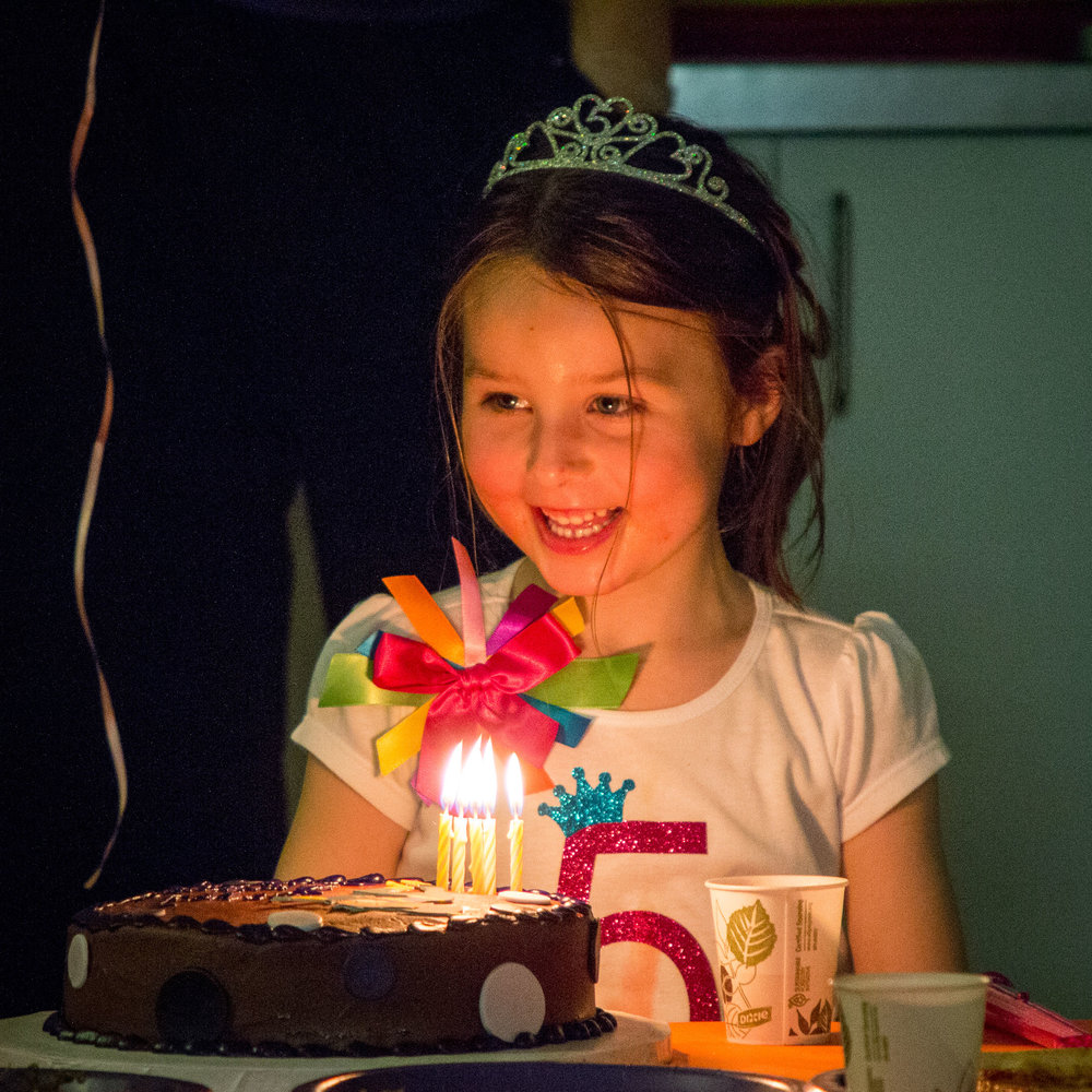 Copy of Fun at a Fifth Birthday Party