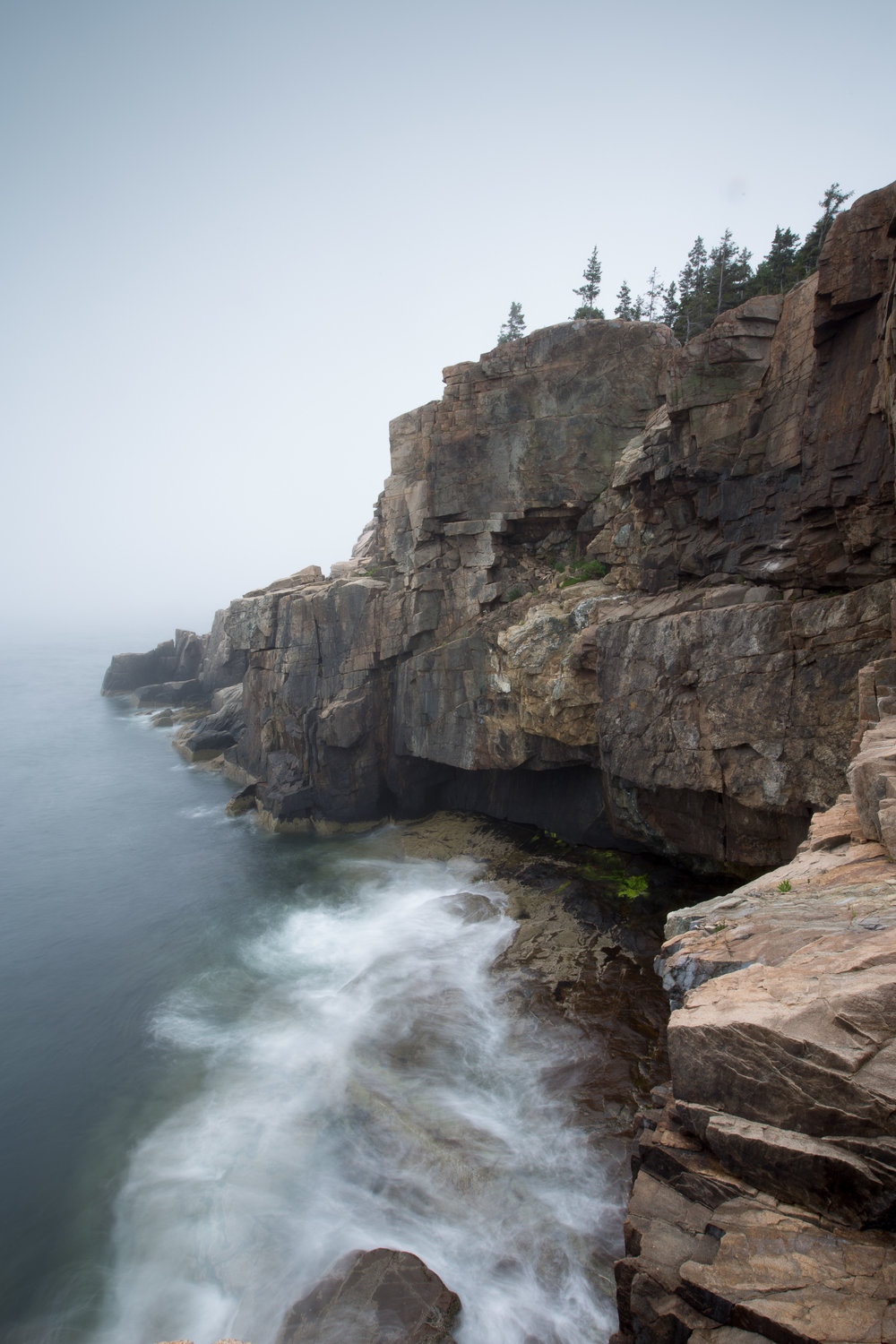 Acadia Cliffs by the Ocean