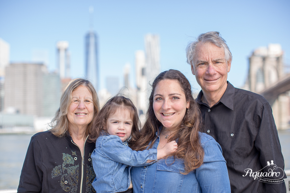 Family Mini Session Brooklyn Bridge Park