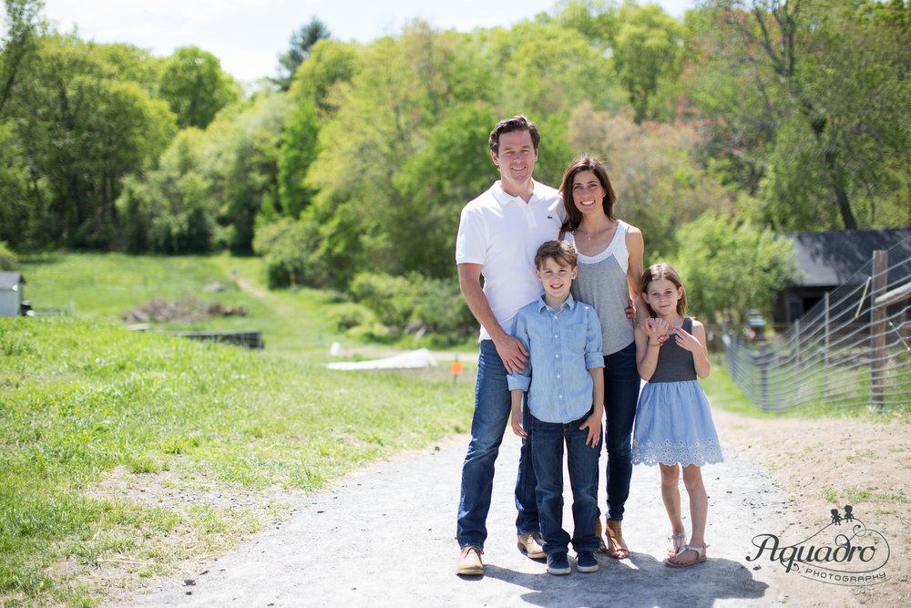 Family Photo at the Farm