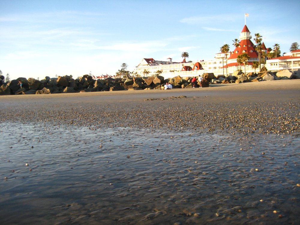 Even an elopement deserves a honeymoon.  We spent ours at the Hotel del Coronado.  Highly recommend.
