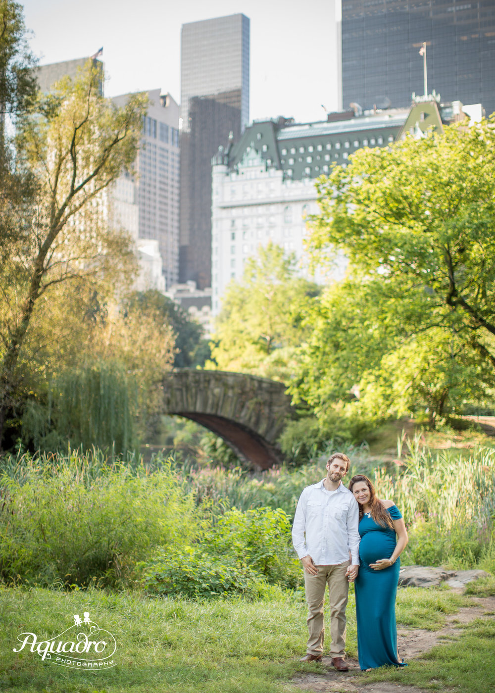 Central Park Maternity Photo