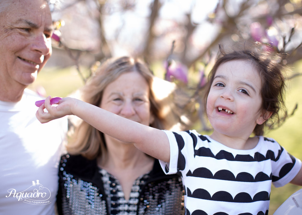 Prospect Park Family Mini Session in the Spring