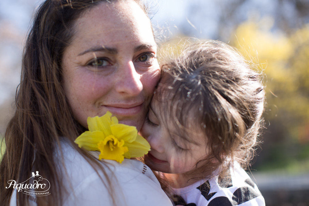 Prospect Park Family Mini Session in the Spring