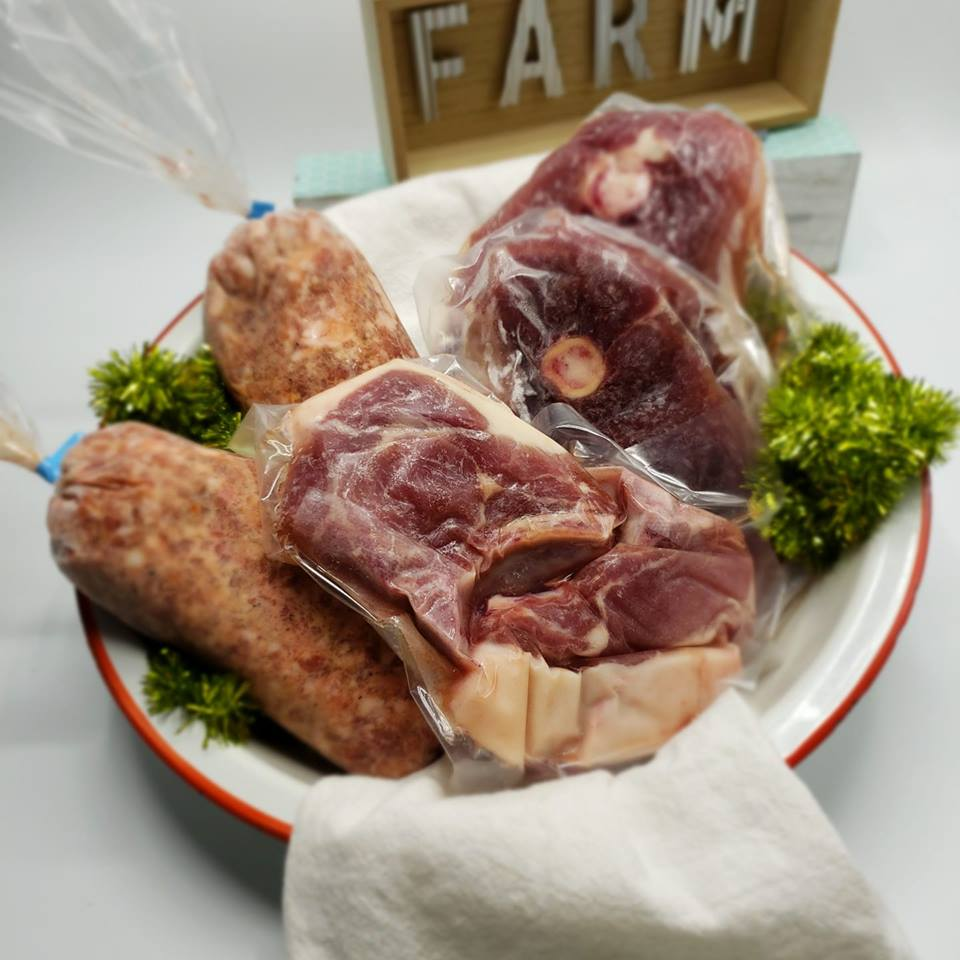 A selection of our beautiful Kune pork