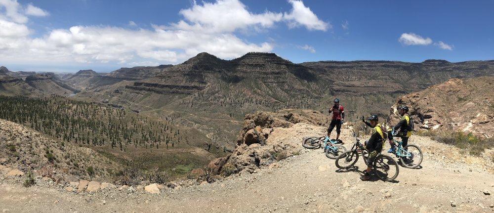 enduro Mtb adventure panoramic