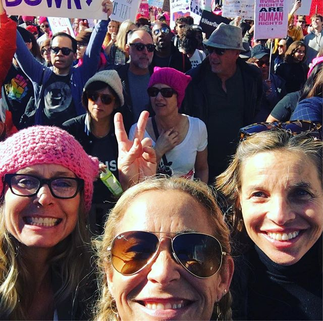 Nevertheless we persisted. #womensmarch
