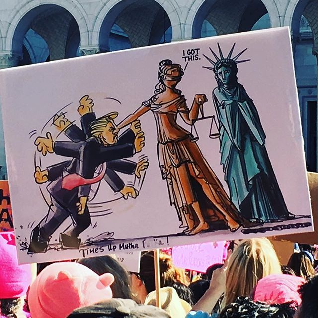 ❤️👊🏽❤️✊🏽#womensmarch #resist #notmypresident  #neverthelesswepersisted