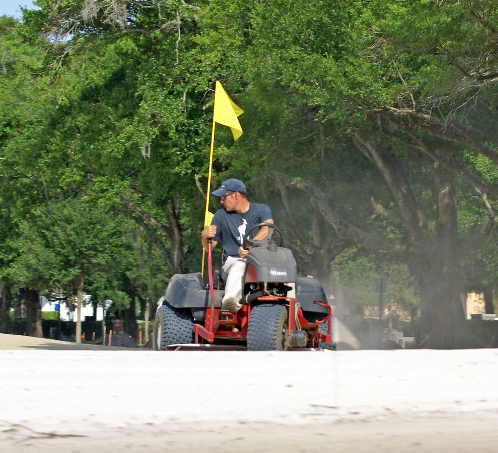 Keith Rhebb - Finish grading No.5 green at Winter Park Golf Course