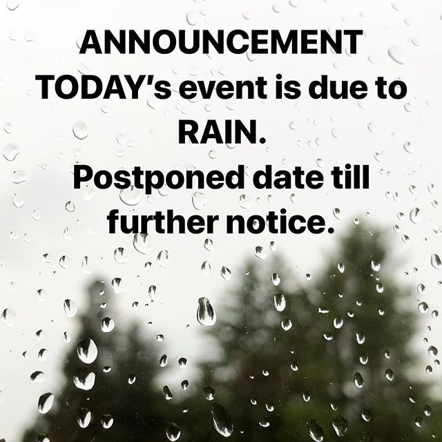 TODAY's event is canceled due to the rain and wet polo field. Next event date is to be announced. Thank you and we hope you understand.