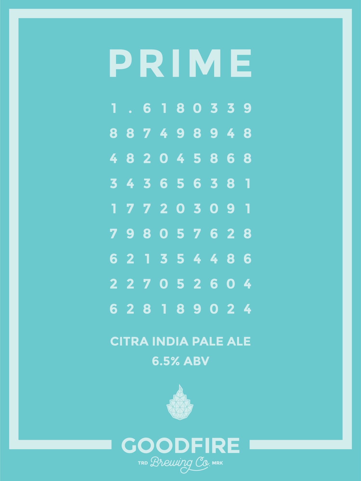 PRIME DESCRIPTION Goodfire Brewing Co
