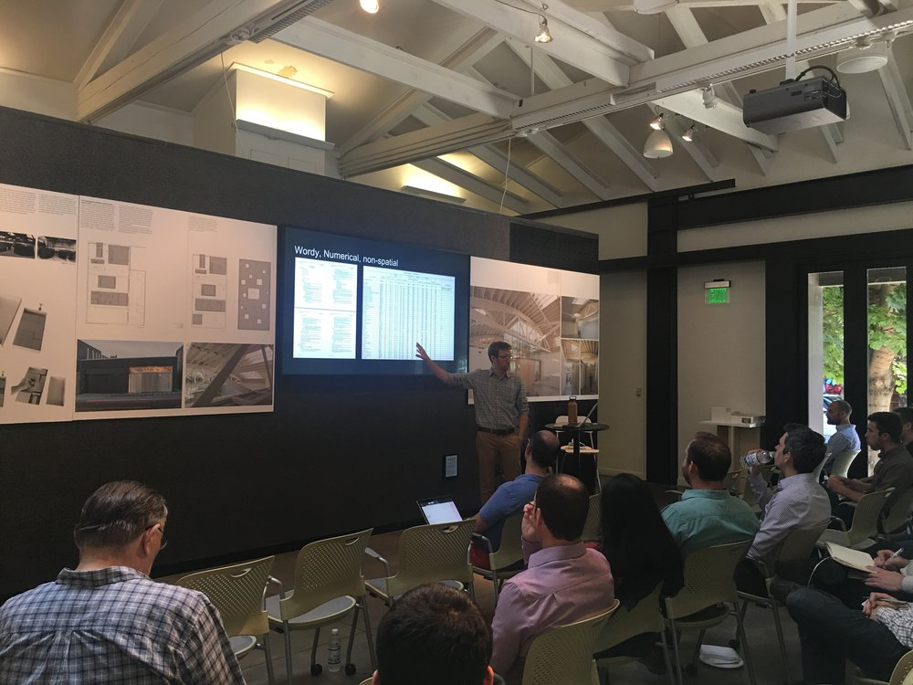 Logan speaks at Revit User Group at AIA Portland