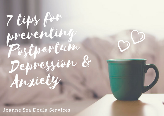 Tips for preventing postpartum depression & anxiety