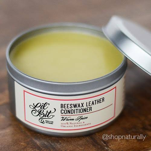 Warm Spice beeswax Leather Conditioner