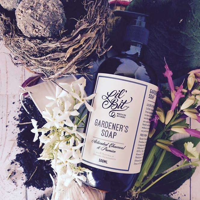 The Activated Charcoal & Pumice Gardeners Soap