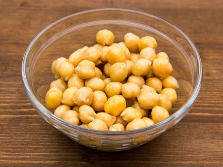 Beans of choice: chickpeas