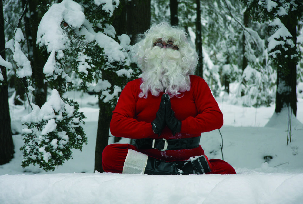 Le Père Noël médite