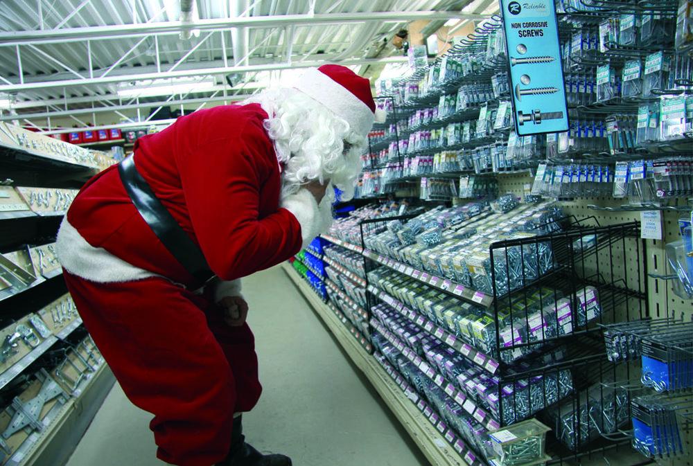 Le Père Noël rénove