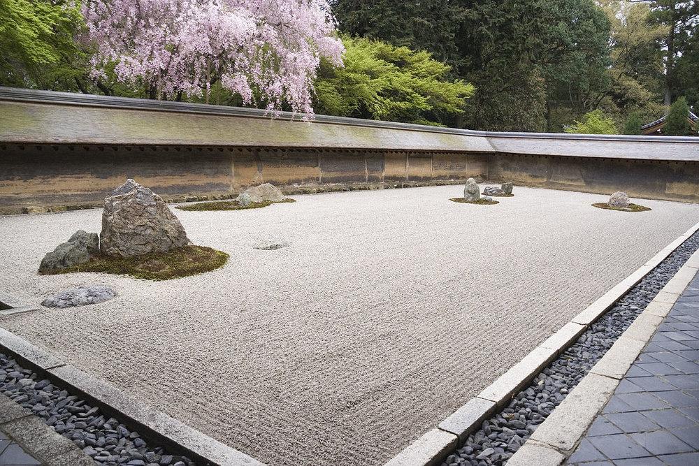 龍安寺 [Ryōan-ji]Kyoto.  Image:  Cquest