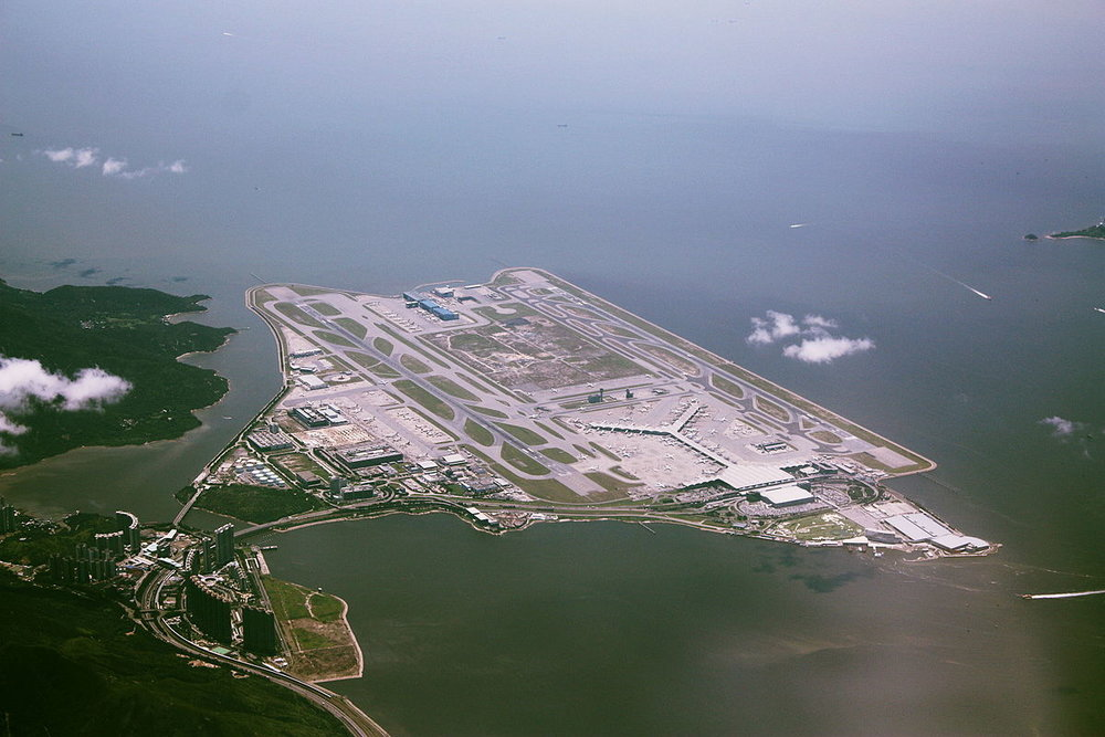 Hong Kong International Airport. Image:  Wylkie Chan