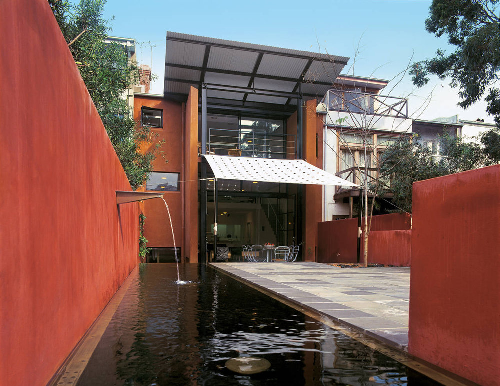 Magney House by Glenn Murcutt and Sue Barnsley.  Image via Area:rivista di architettura e arti del progetto