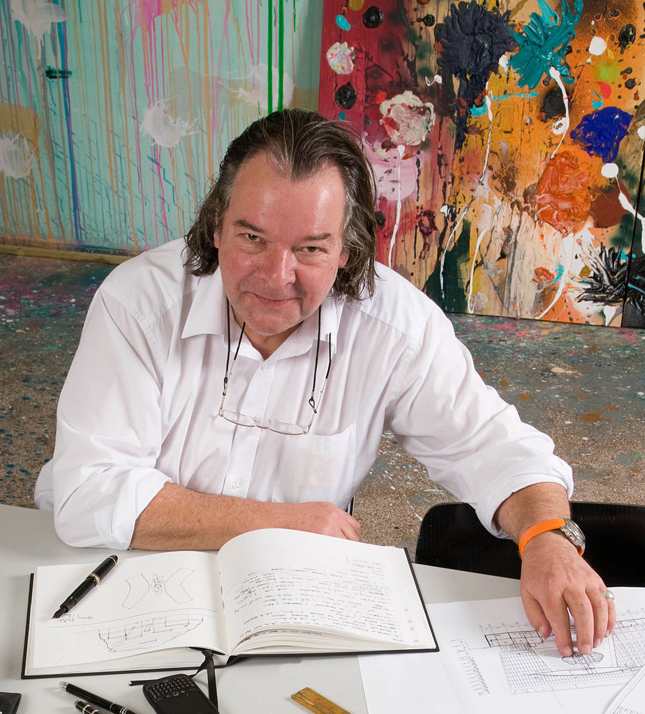 Will Alsop. Photographer:  Malcolm Crowther