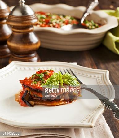 Savory Eggplant Lasagna