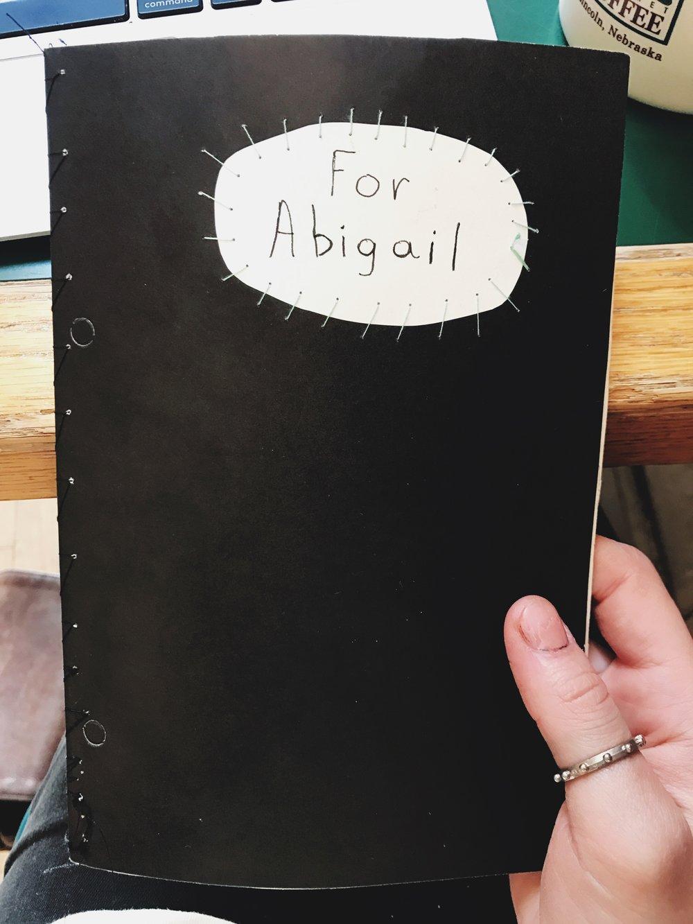 said book