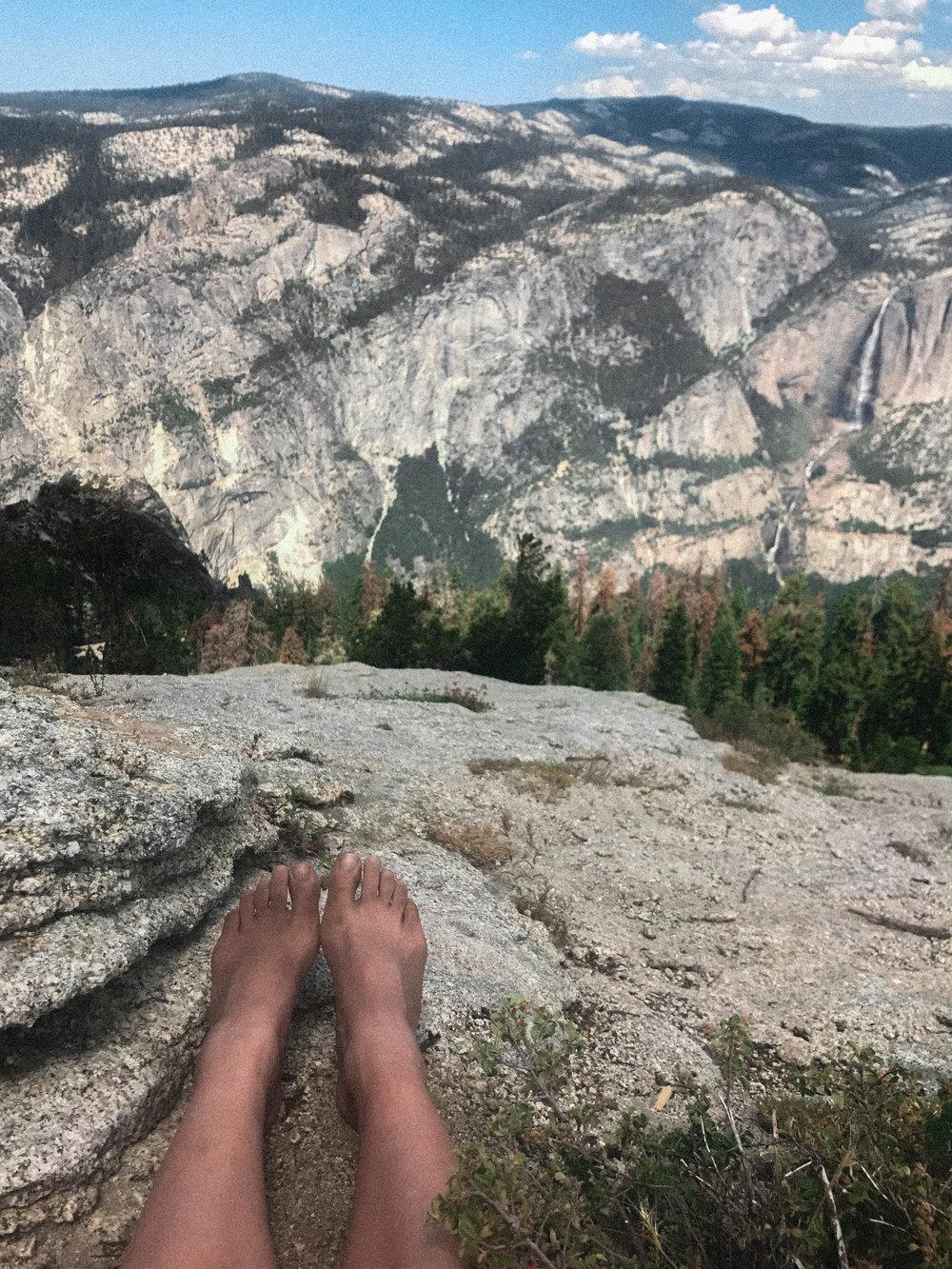 barefoot hike #5