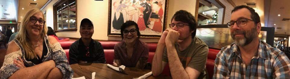 Pete, Emily, Eddie