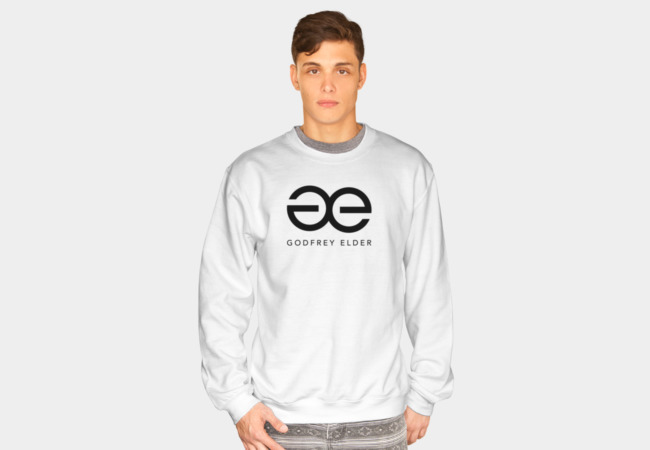 Men's White Sweatshirt - $30.00