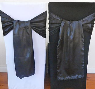Chair Cover Hire Black Satin Sash.jpg