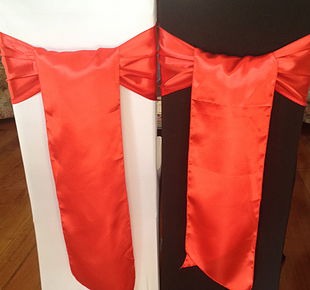 Chair Cover Hire Flame Red Satin Sash.jpg