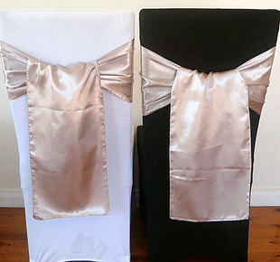 Chair Cover Hire Mushroom Satin Sash.jpg